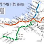 JR博多駅の道路陥没の復旧期間は?地下鉄七隈線の工事期間や延伸経路